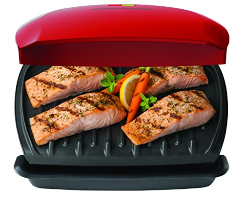 GEORGE FOREMAN 5-Serving Classic Plate Grill by George Foreman