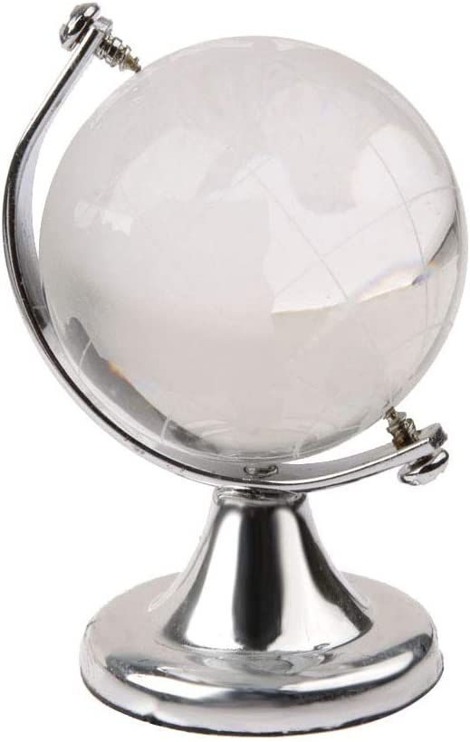 OMING Decorative Bargain sale Balls Globe Wedding Easy-to-use Paperweight Feng Shui Gift