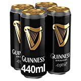Guinness Irisches Bier, Draught - Stout (24 x 0,44l) inkl. 6,00€ Pfand EINWEG