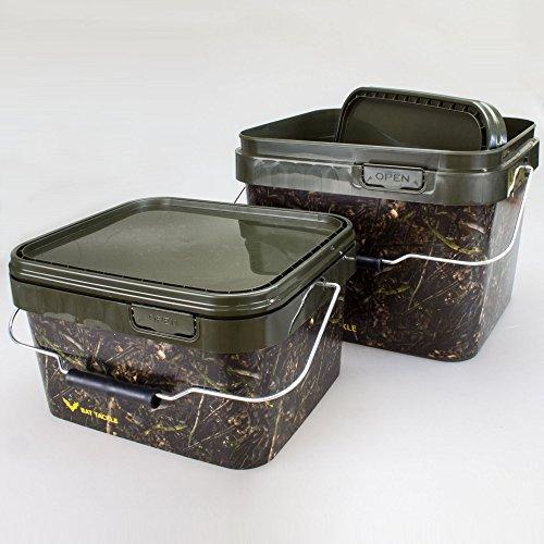 BAT-TackleRealistric® Bait Bucket Set 5L und 10L