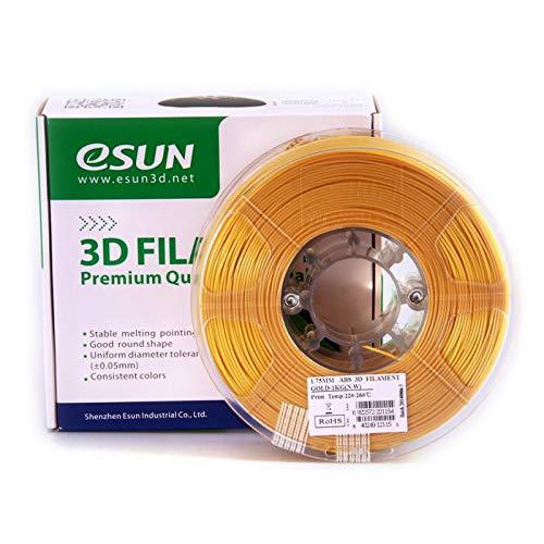 ESUN Filament pour Imprimante 3D ABS ESUN - Doré - 1,75 mm - 1kg