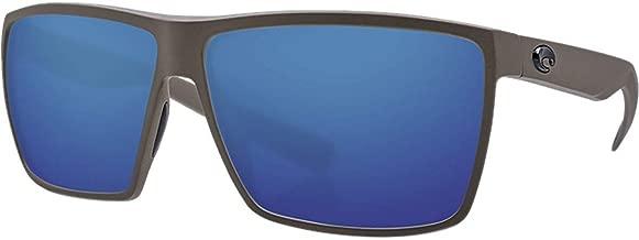 Costa Rincon 580P Polarized Sunglasses (Moss/Blue Mirror)