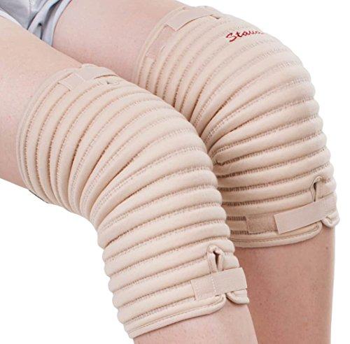 Staudt Knie Manschetten Größe L (paarweise) bei Arthrosen, Meniskus- und Bänderläsionen,Schwellungen und Stauchungen