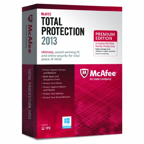 McAfee Total Protection & Family Protection Bundle 2013 - 1 PC, 12 month Subscription [import anglais]