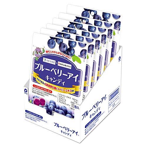 パイン ブルーベリーアイキャンディ 80g ×6袋