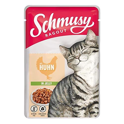 Schmusy Ragout mit Huhn in Jelly 100g (Menge: 22 je Bestelleinheit)
