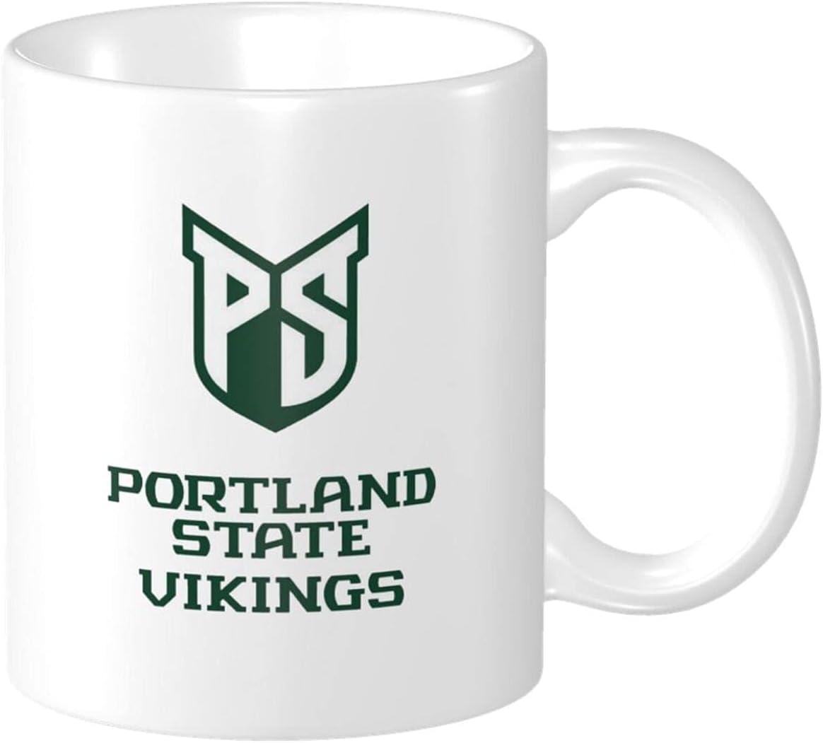 Psu Portland State Over item handling ☆ University Vikings Coffee Popular product Ceramic For Mugs Of