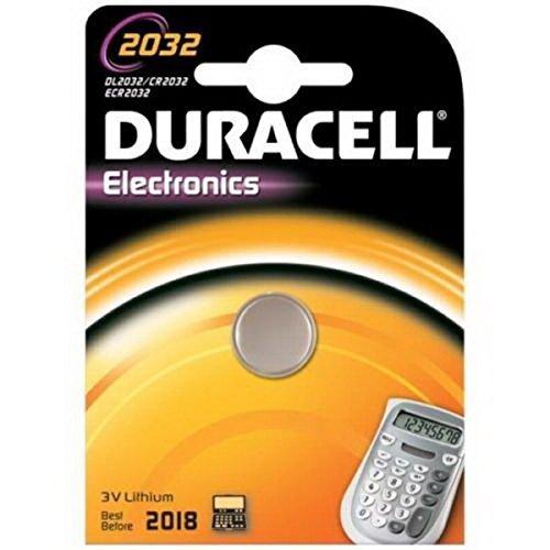 Akku Knopf Lithium Batterie CR 2032 DURACELL CR2032 3 V 220 mAh 033 917