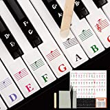 Piano Keyboard Removable Stickers for...
