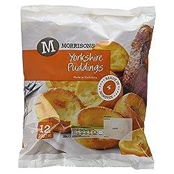 Morrisons 12 Yorkshire Puddings, 230g (Frozen)