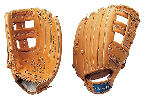Champion Sports Leather Front Fielder's Glove (Right-Handed, 13-Inch)