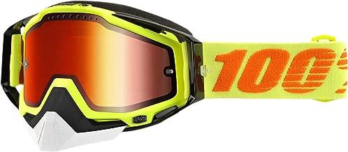 100% Racecraft Attack Mirror Snowmobile Goggles