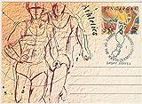 FGNDGEQN Colección de Sellos Singapur 1992 Sello Barcelona Límite de relé Deportivo olímpico de Barcelona