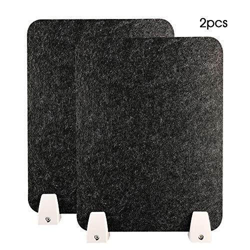 HEFUTE Schreibtisch Trennwand-Privatsphäre Cubicle Panel mit 4 Klemmhalterungen Für Schreibtische, Schreibtische, Schulen 30 * 40
