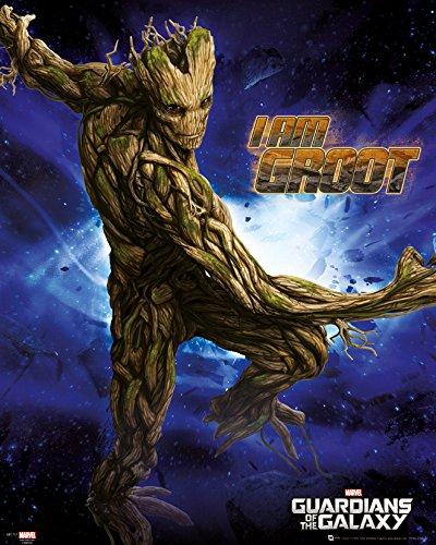 Póster de Guardianes de la Galaxia Groot (40 x 50 cm)