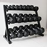 Sporto Fitness Home Gym Set 4 Rack Stand (Black)