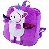 Dyudyrujdtry - Mochila de unicornio para bebé, diseño de dibujos animados 3.