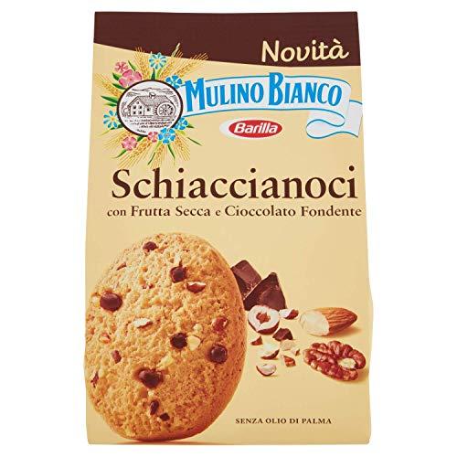 Mulino Bianco Schiaccianoci, con Frutta secca e Cioccolato fondente, 300 gr