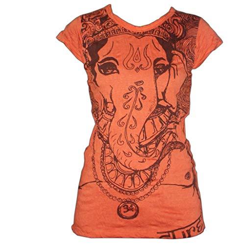 PANASIAM Sure T-Shirt Ganesh, Size L, in Orange