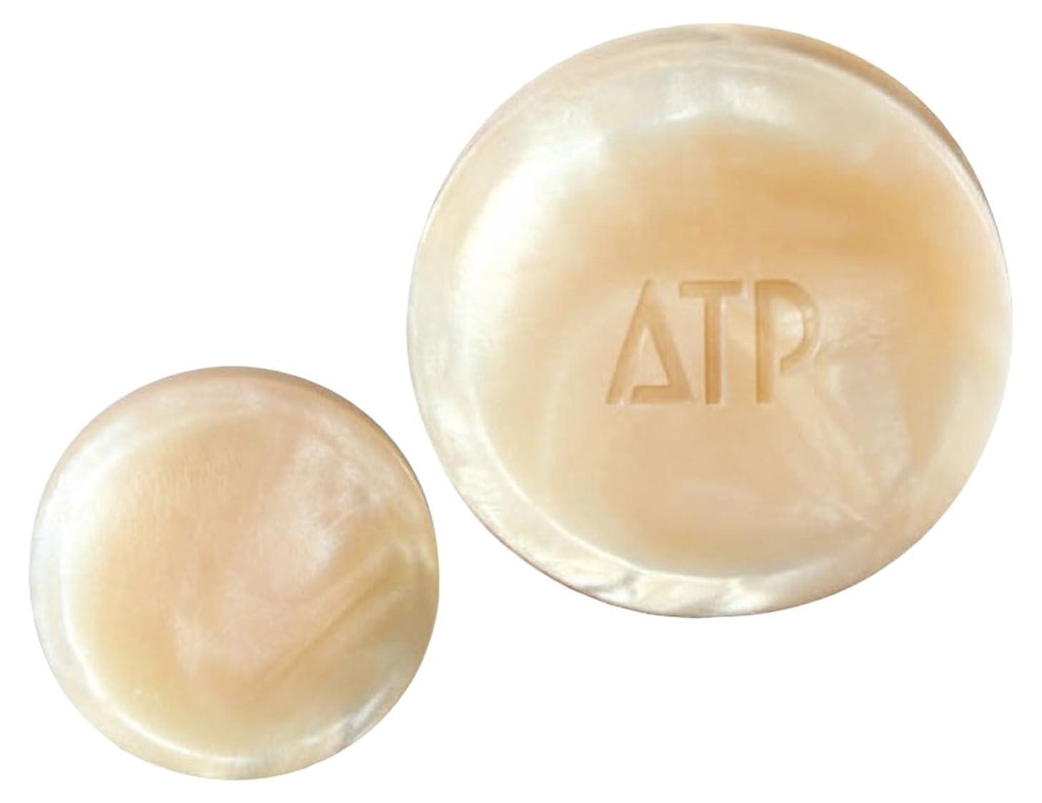 世界記録のギネスブックアンドリューハリディ後退する薬用ATP デリケアソープ 30g (全身用洗浄石けん?枠練り) [医薬部外品]