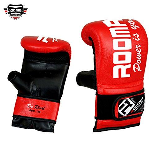 ROOMAIF - Guante de Saco de Boxeo Guantes de Boxeo para Entrenamiento Guantes Boxeo Saco Sparring Entrenamiento Mitones Muay Thai Kick Boxeo ES