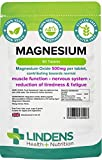 Lindens Magnesium 500mg 90 Pack