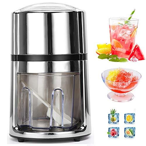 Kitchen utensils123 Eisbrecher/rasierte Eismaschine, Tragbare kleine Eismühle, Rasierer für Schneekegelmaschine für Haushaltsbar, Plastikeisbrecher für Kinder