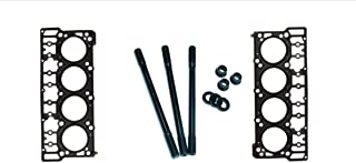 Custom ARP Head Studs & 20mm OEM Style Head Gaskets For 2006-2007 Ford Powerstroke Diesel 6.0L F250 F350 F450 F550 - Bundle