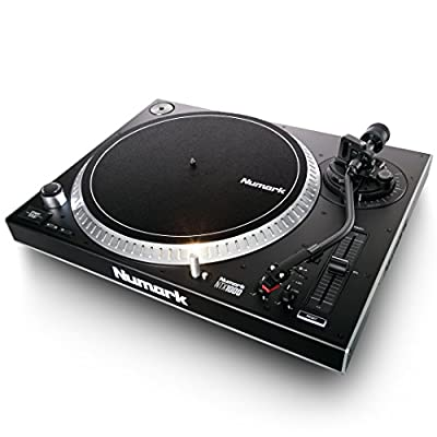 Numark NTX1000 | Professional High-Torque Direct-Drive DJ Turntable with S-Shaped Tonearm, Pitch Fader & Club-Ready Isolation Design by inMusic Brands Inc.