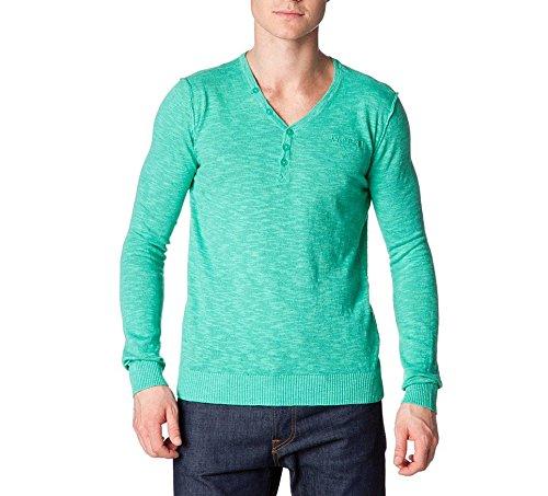 Kaporal Pull Homme Borag Bleu Menthe - Couleur - Vert, Taille - L