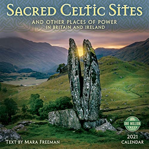 Sacred Celtic Sites 2021 Wall Calendar And Other Places of Power in Britain and Ireland product image