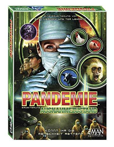 Asmodee Pandemic - Ausnahmezustand, Erweiterung, Familienspiel, Strategiespiel, Deutsch