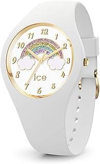 Ice-Watch - ICE fantasia Rainbow white - Montre blanche avec bracelet en silicone
