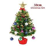 CORST Mini Weihnachtsbaum Künstlich 50cm Tabletop Weihnachtsbaum Desktop...