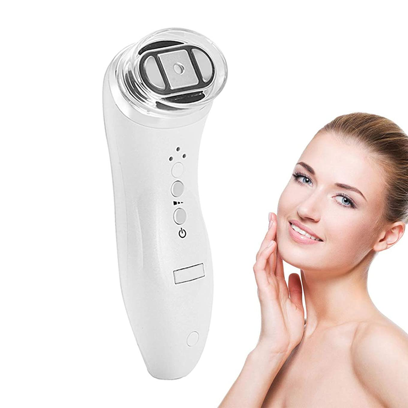 バン眼尾アップグレード専門の両極RFの無線周波数の持ち上がる表面スキンケアのマッサージャー、皮の若返りの美装置、白をきつく締める小型手持ち型の反しわ