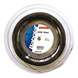Babolat RPM Blast–Cuerda para raqueta de tenis (Bobina de 100M/330pies Mini–elección de calibre–mitad carrete, negro
