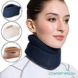 Velpeau Neck Brace -Foam Cervical Collar - Soft Neck Support Relieves Pain &...