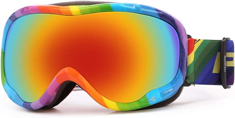 Ski Goggles Sports Glasses Glasses Professional Anti-Fog Polarized Outdoor Mountaineering Snow MirrorJBP1 (color   F)