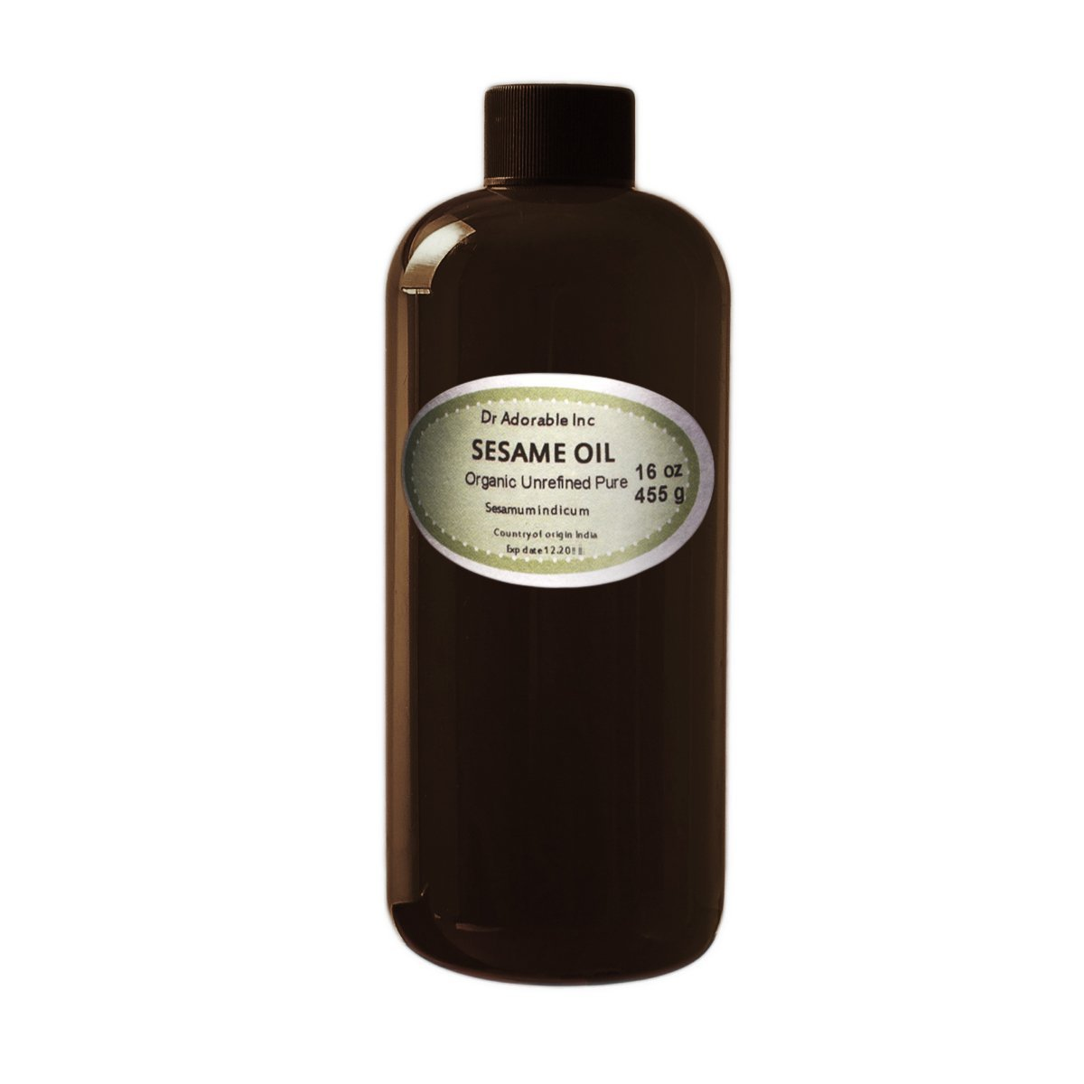 Sesame OIL Unrefined Cold Pressed 3 Special sale item Organic Sales of SALE items from new works Pints 48 Oz