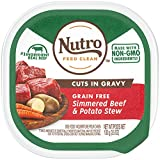 NUTRO Adult High Protein Natural Grain Free Wet...