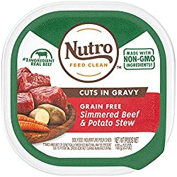 Nutro Cuts in Gravy Grain Free Wet Dog Food Adult & Puppy,...