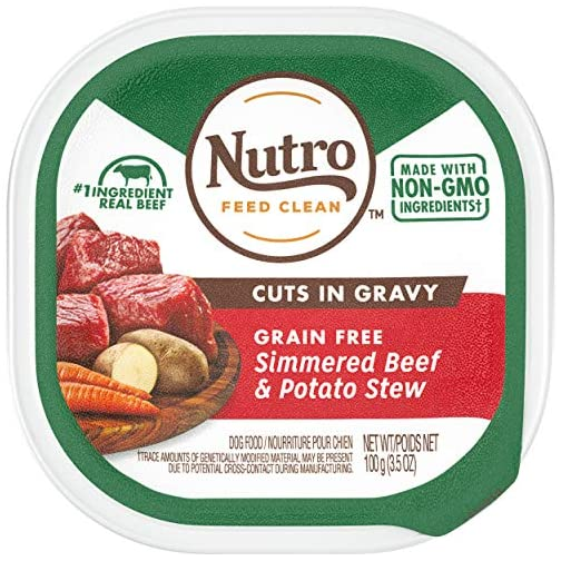 Nutro Cuts in Gravy Grain Free Wet Dog Food Adult & Puppy, 3.5 oz Trays 3