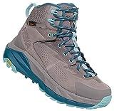 HOKA ONE One Sky Kaha - Zapatillas de Senderismo para Mujer, 8 B(M) US, Frost Gray/Aqua Haze