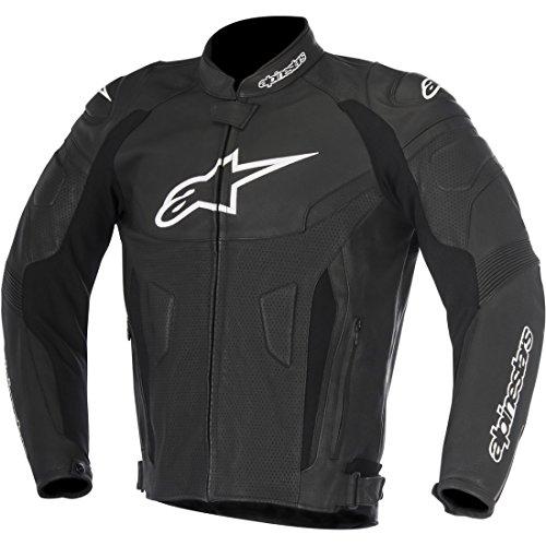 Alpinestars Men's GP Plus R V2 Airflow Leather Motorcycle Jacket, Black, 54