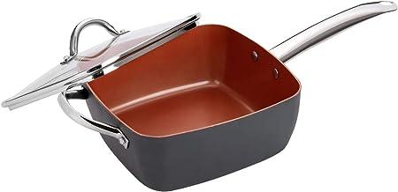 Aramco HB033 Hamilton Beach Aluminum square pan, 9.5 in, Grey