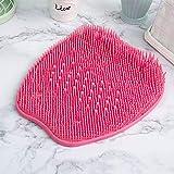 Gizayen Foot Cleansing Massage Brush, Shower Foot Scrubber Massager Cleaner, Non-Slip Exfoliation Acupressure Massage Mat,Blue, Green and Pink