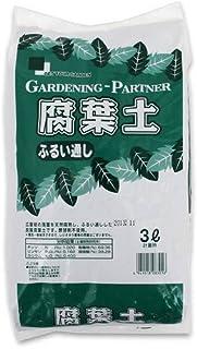 厳選腐葉土(ふるい通し チーク葉100%) スタンドパック 3L 園芸 ガーデニング
