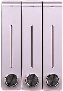 Premium Quality Zeepdispenser High-end badkamer Punch-vrije Double Head Zeepdispenser Badkamer Shampoo Shower Gel Box Wal...