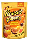 reese pieces chocolate candy filled with peanuts, 200 gram