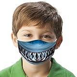 Kinder Face Cover Masken Gesichtsmaske Multifunktionstuch Tier Printed Wiederverwendbare Mundschutz Halstuch Atmungsaktiv Masken Augenschutz Gesichtsschutz Gesichtsschild (D)